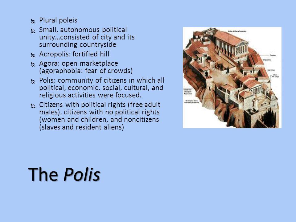 The Polis Plural poleis