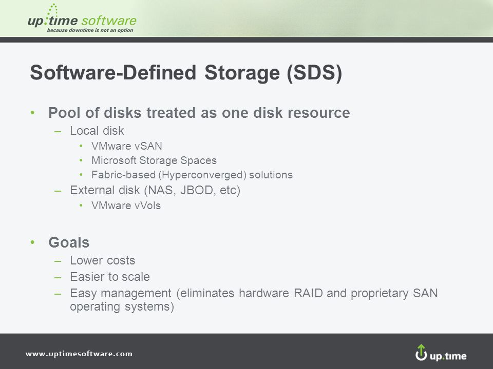 Software-Defined Storage (SDS)