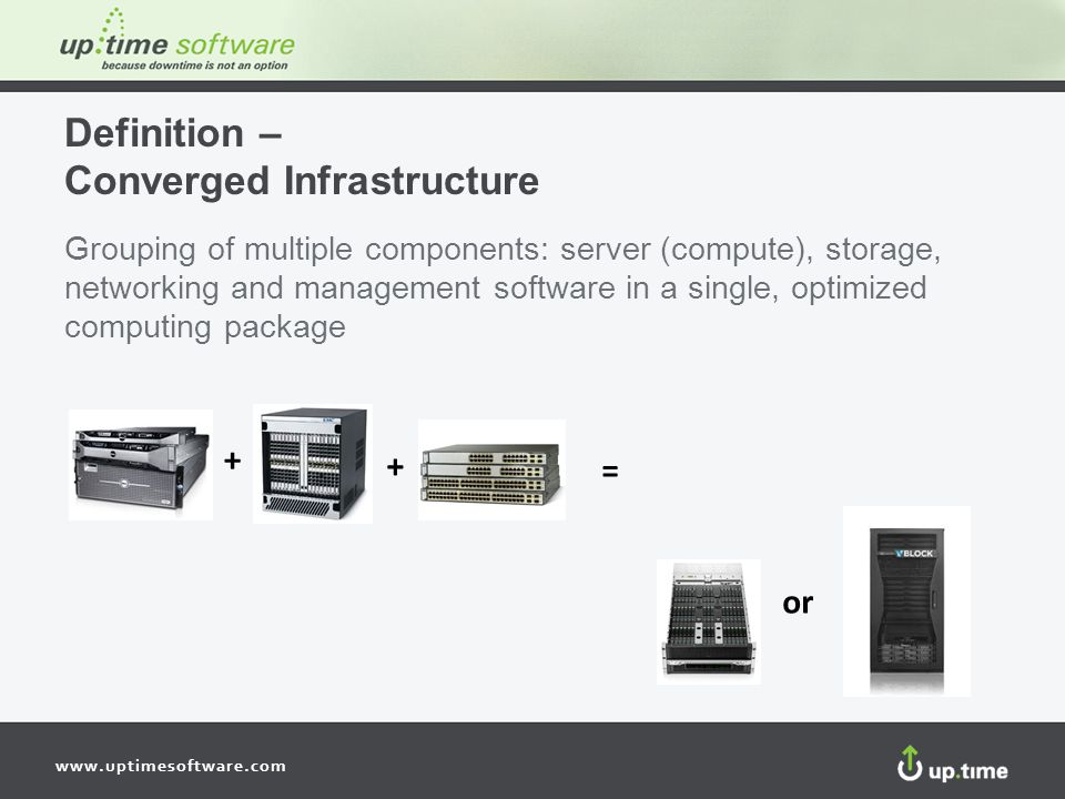 Definition – Converged Infrastructure