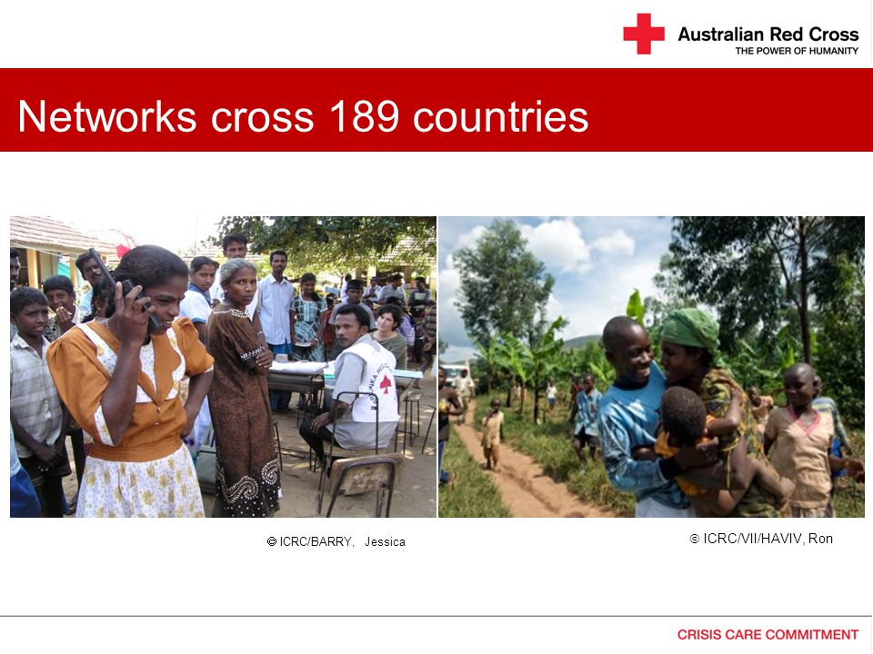 Networks cross 189 countries