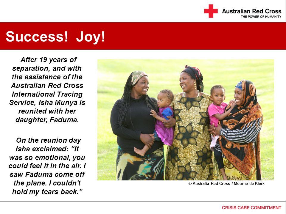 Success! Joy!