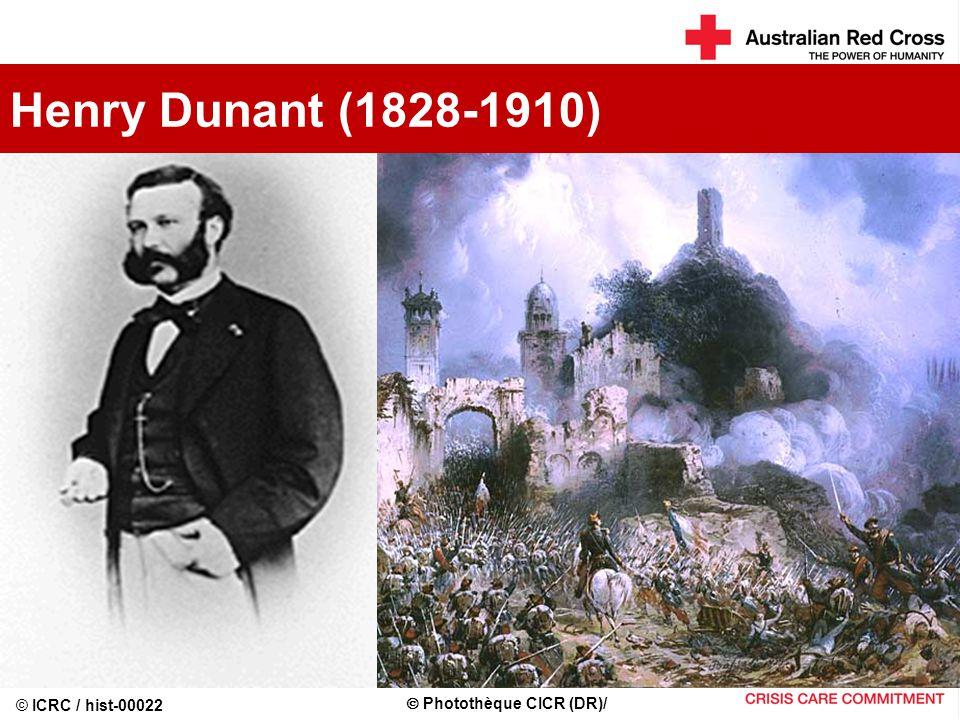 Henry Dunant (1828-1910)