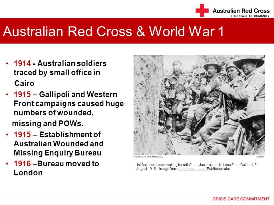 Australian Red Cross & World War 1
