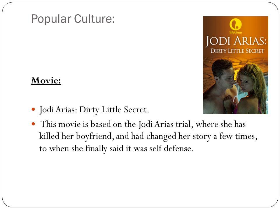 Popular Culture: Movie: Jodi Arias: Dirty Little Secret.