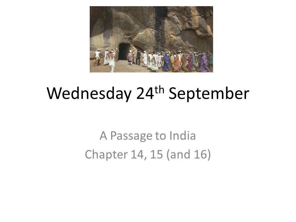 Wednesday 24th September