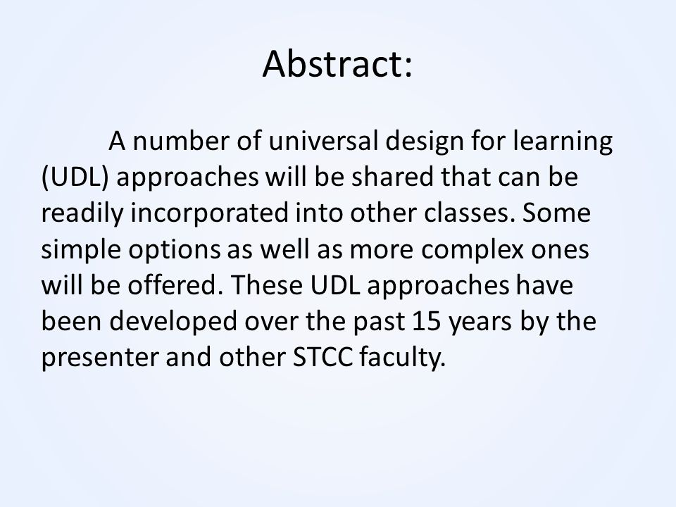 Abstract:
