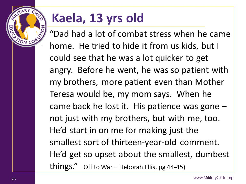 Kaela, 13 yrs old