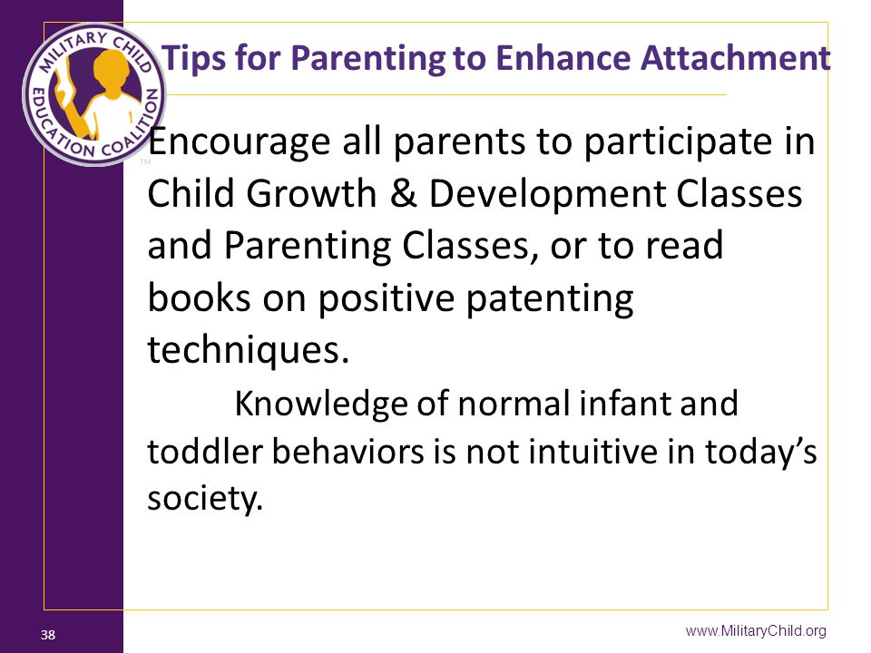 Tips for Parenting to Enhance Attachment