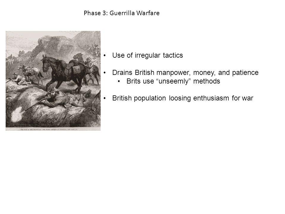 Phase 3: Guerrilla Warfare