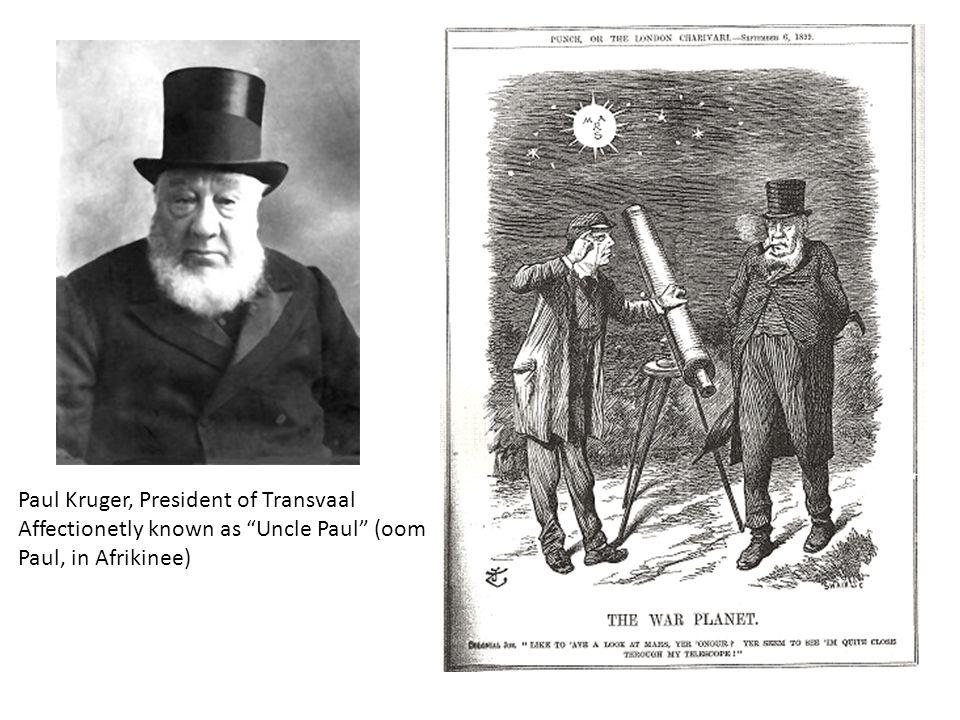 Paul Kruger, President of Transvaal