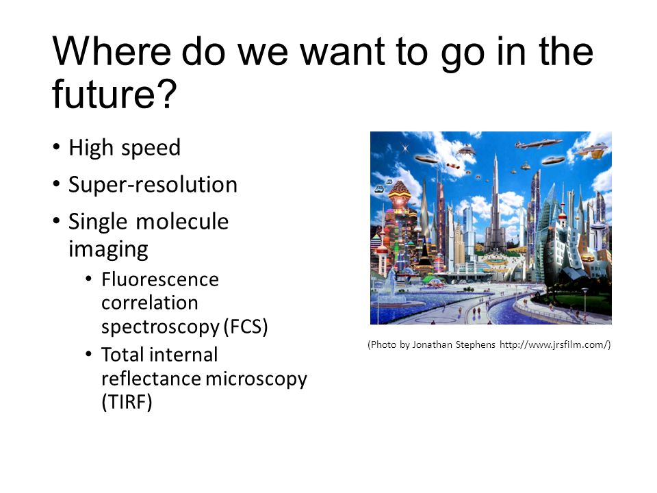 Where do we want to go in the future