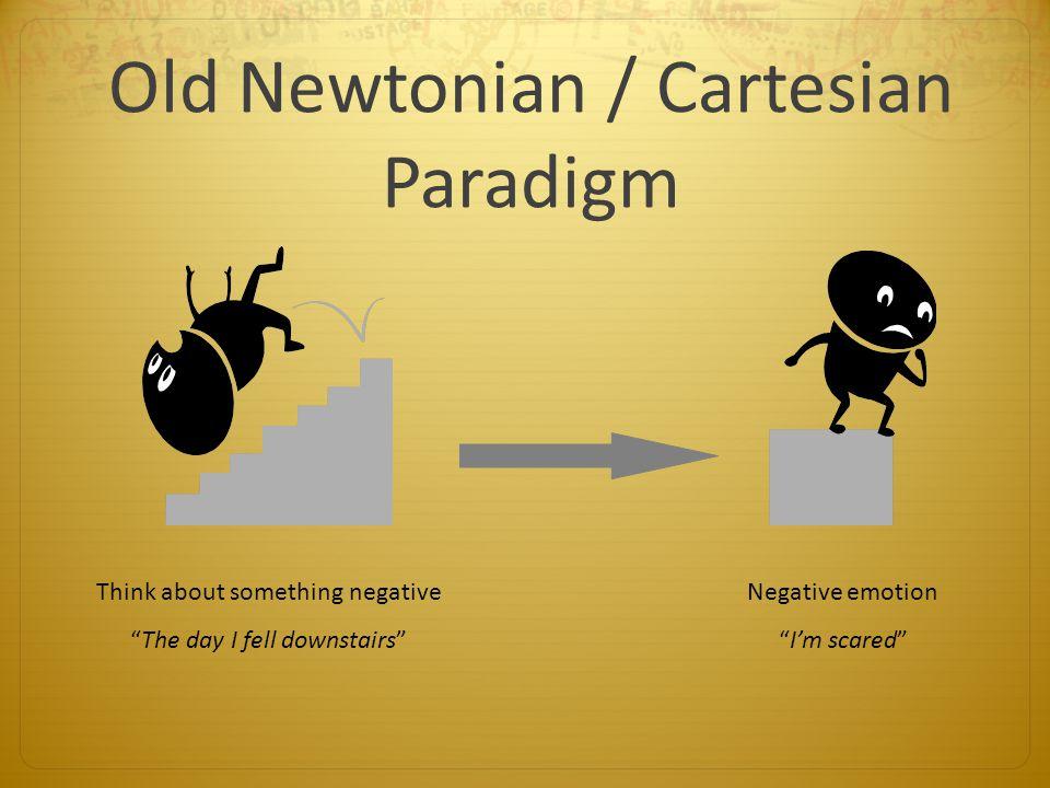 Old Newtonian / Cartesian Paradigm