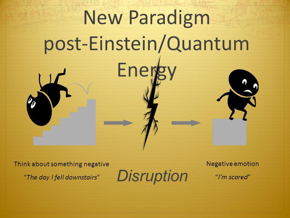 New Paradigm post-Einstein/Quantum Energy
