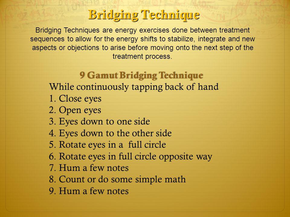 9 Gamut Bridging Technique