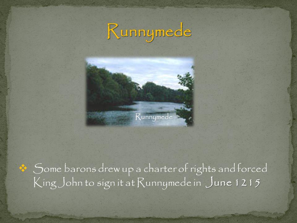Runnymede Runnymede.