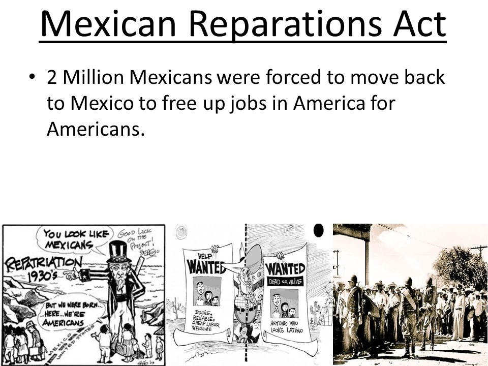 Mexican Reparations Act