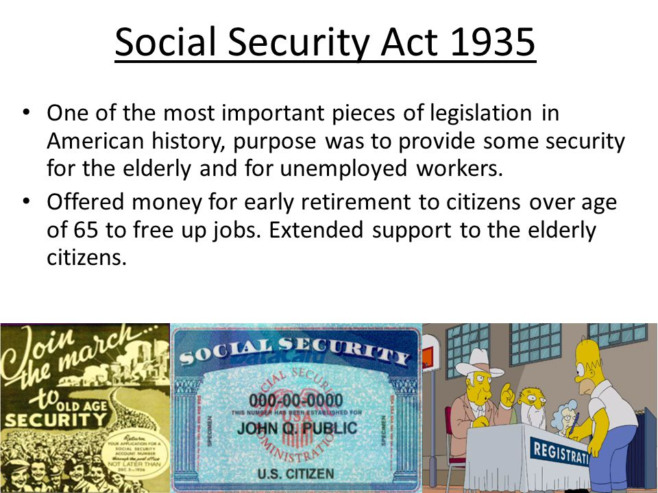 Social Security Act 1935