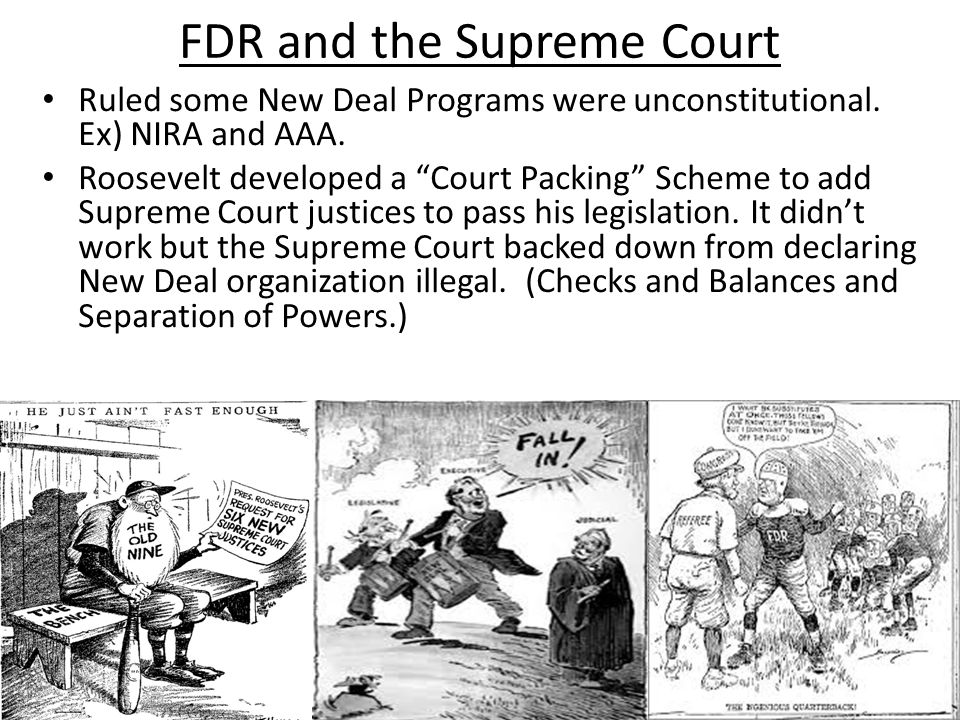 FDR and the Supreme Court