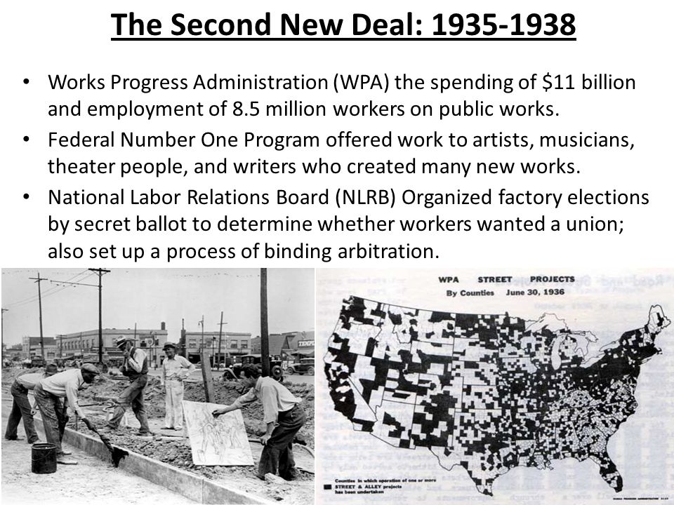 The Second New Deal: 1935-1938