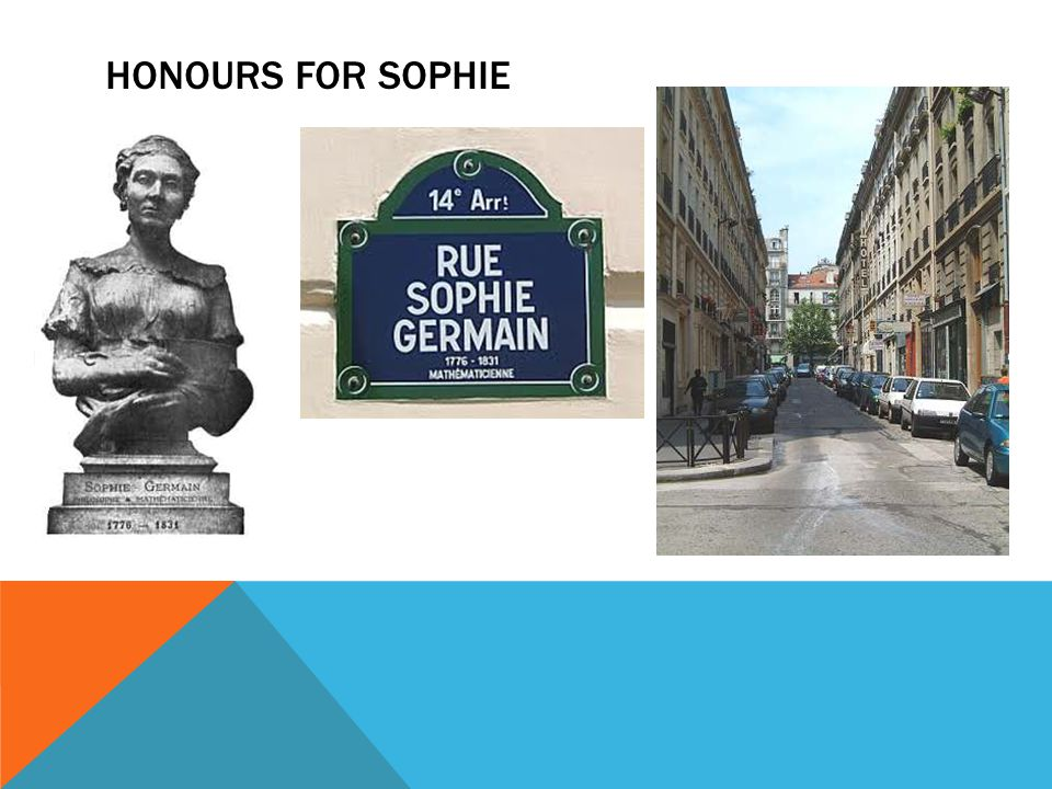 Honours for sophie