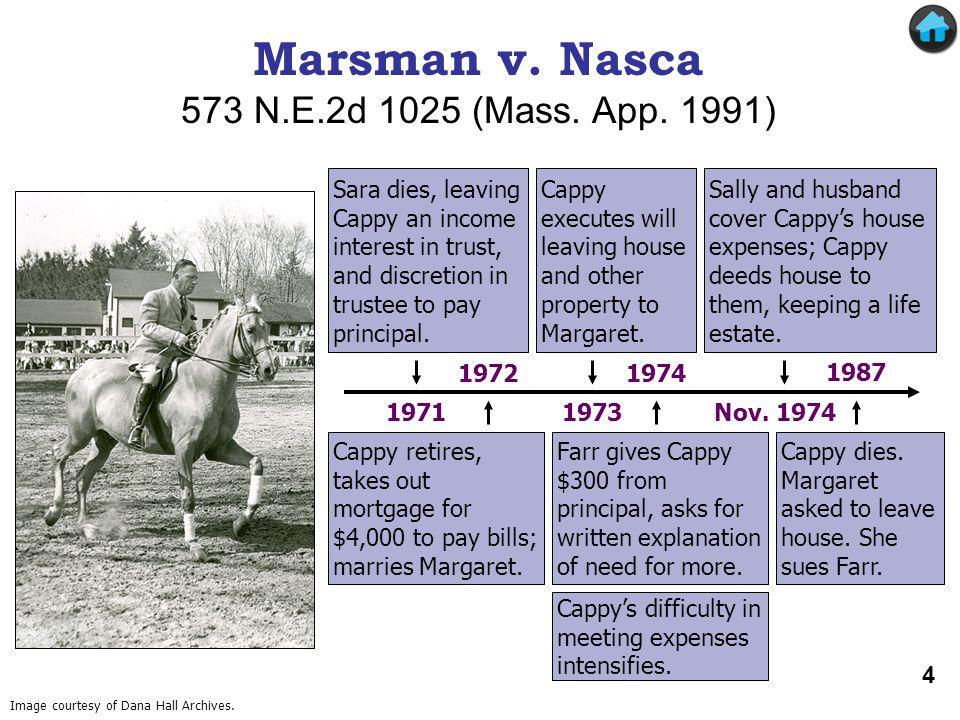 Marsman v. Nasca 573 N.E.2d 1025 (Mass. App. 1991)