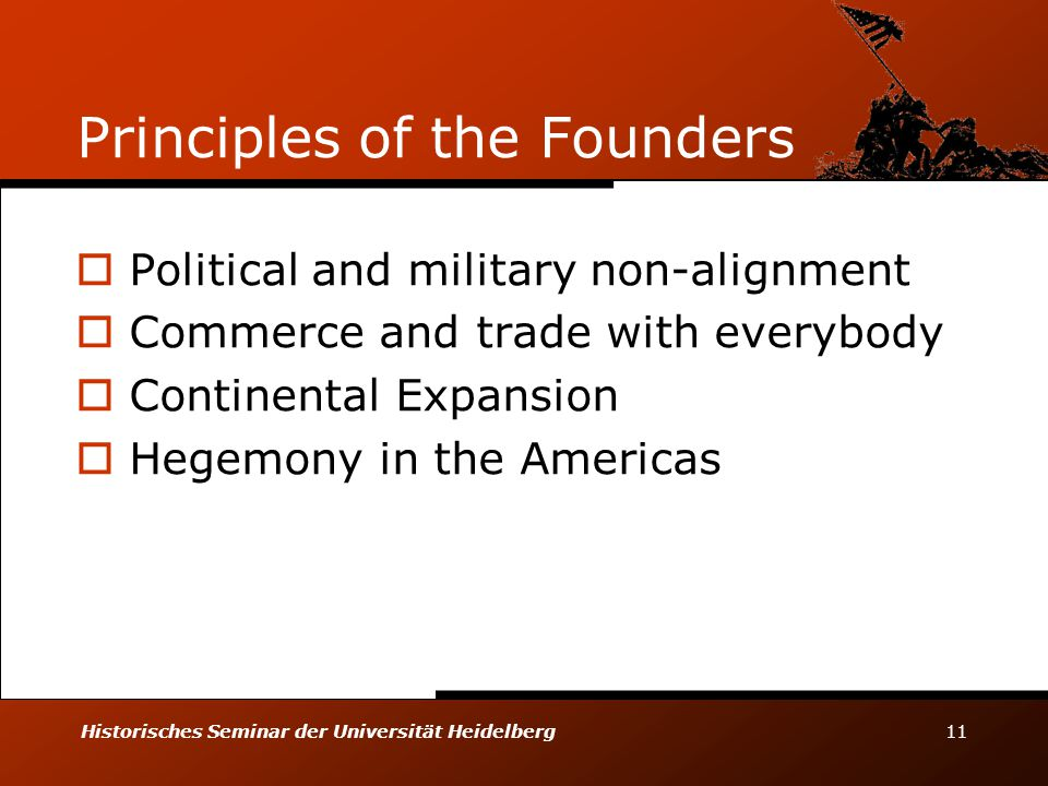Principles of the Founders