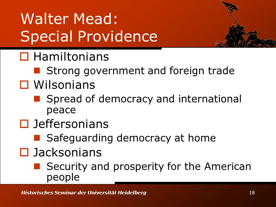 Walter Mead: Special Providence
