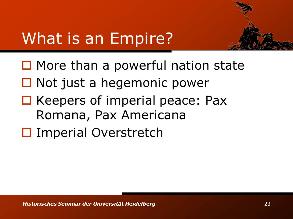 What is an Empire More than a powerful nation state