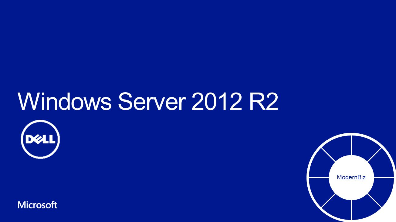 Windows Server 2012 R2 ModernBiz