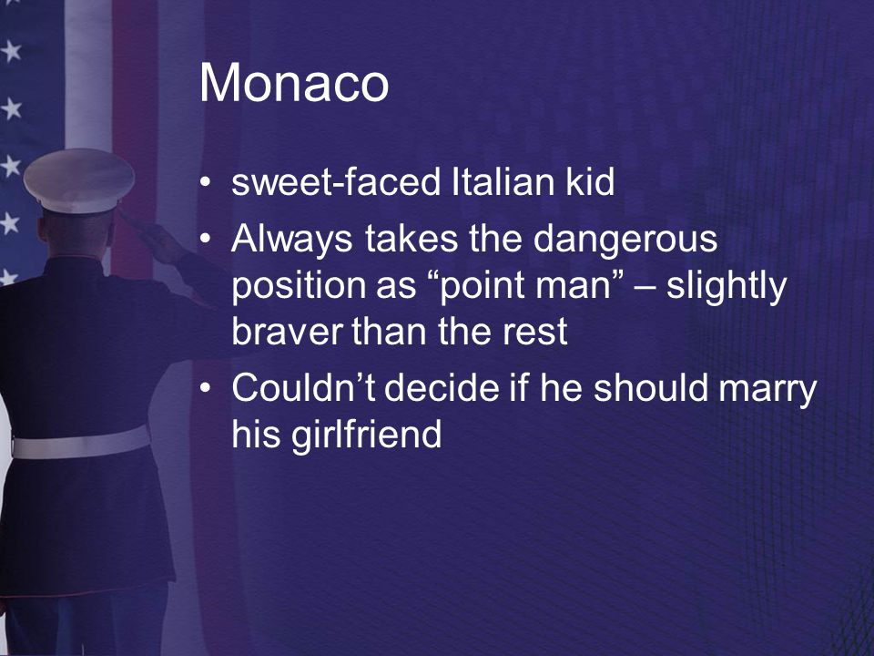 Monaco sweet-faced Italian kid