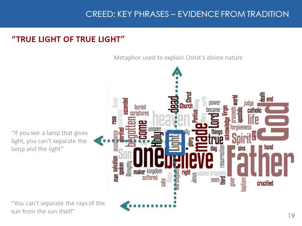 TRUE LIGHT OF TRUE LIGHT