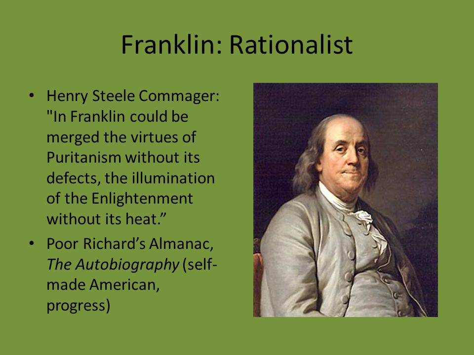 Franklin: Rationalist