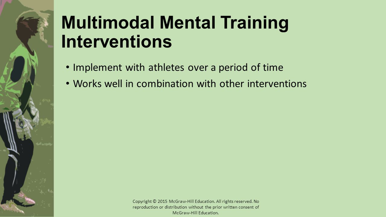 Multimodal Mental Training Interventions