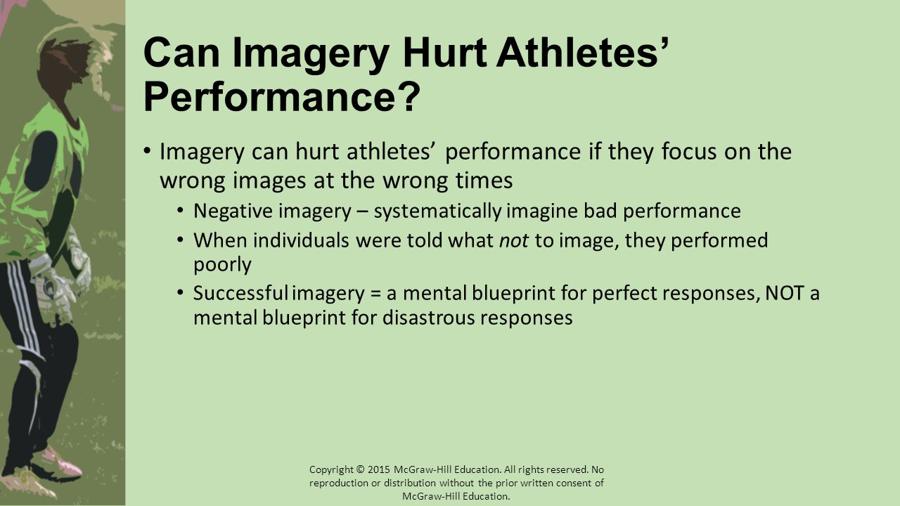 Can Imagery Hurt Athletes' Performance