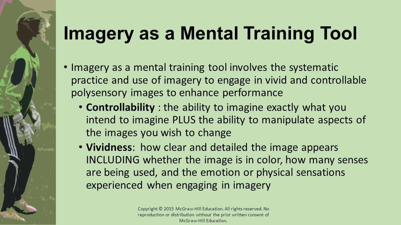 Imagery as a Mental Training Tool