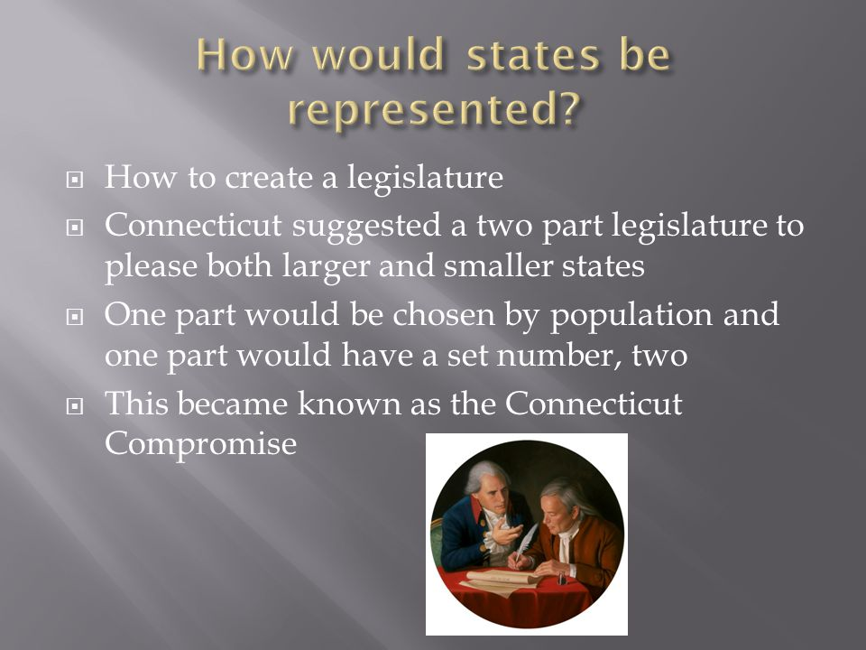 How would states be represented