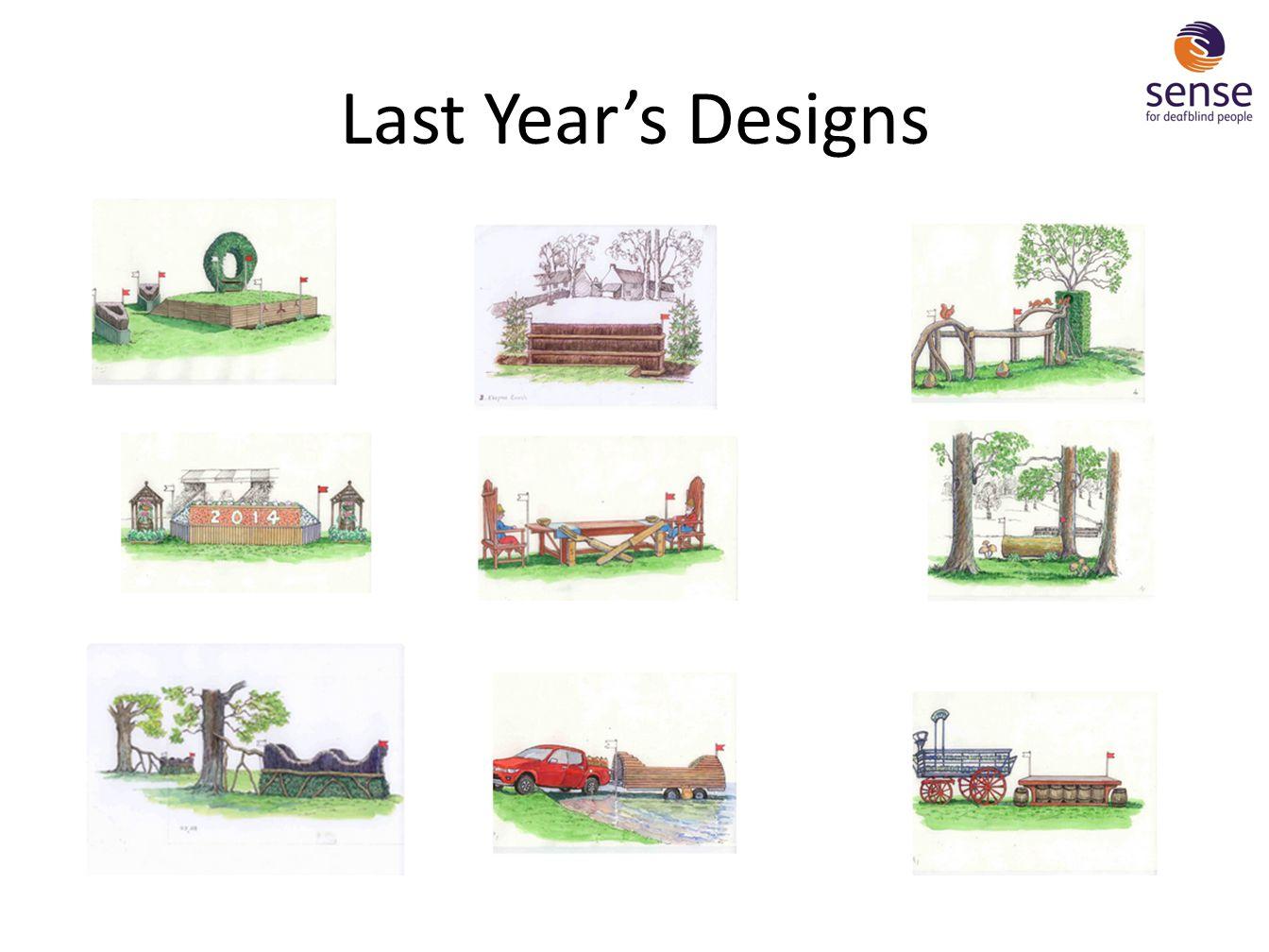 Last Year's Designs