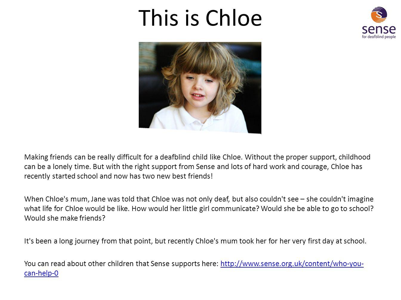 This is Chloe