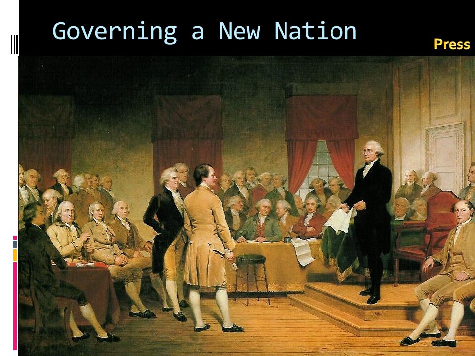 Governing a New Nation Press