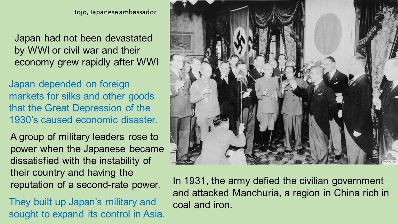 Tojo, Japanese ambassador