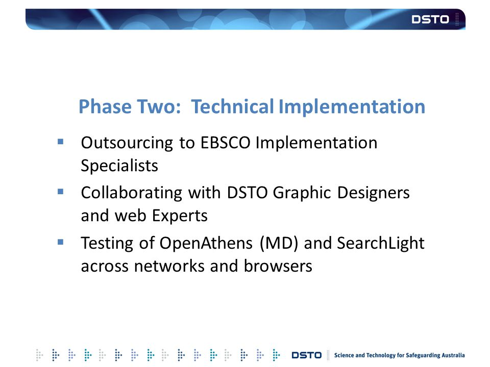 Phase Two: Technical Implementation