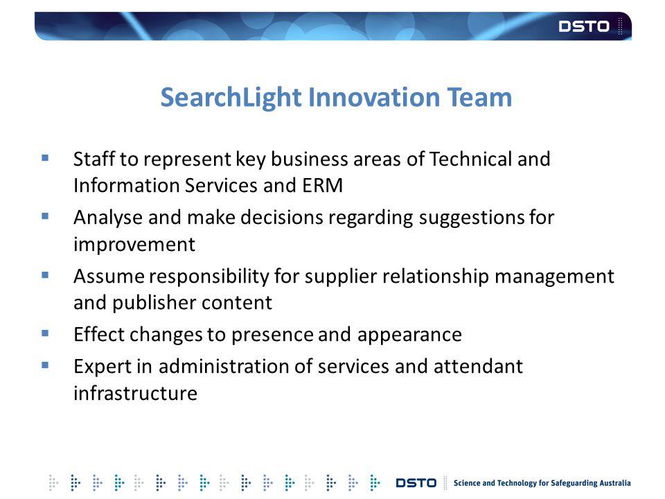 SearchLight Innovation Team