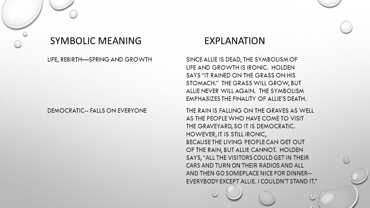 Symbolic meaning explanation