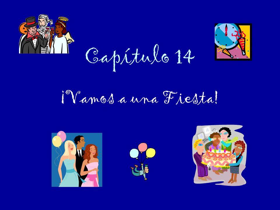 Capítulo 14 ¡Vamos a una Fiesta!