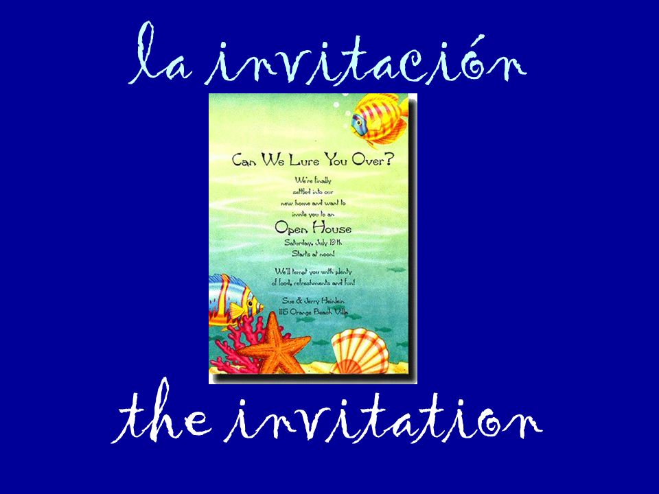 la invitación the invitation