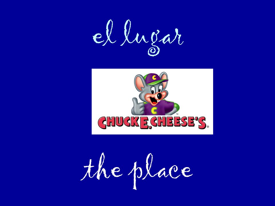 el lugar the place