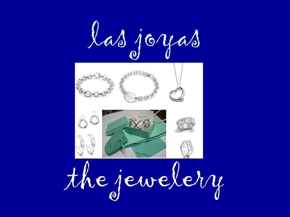 las joyas the jewelery