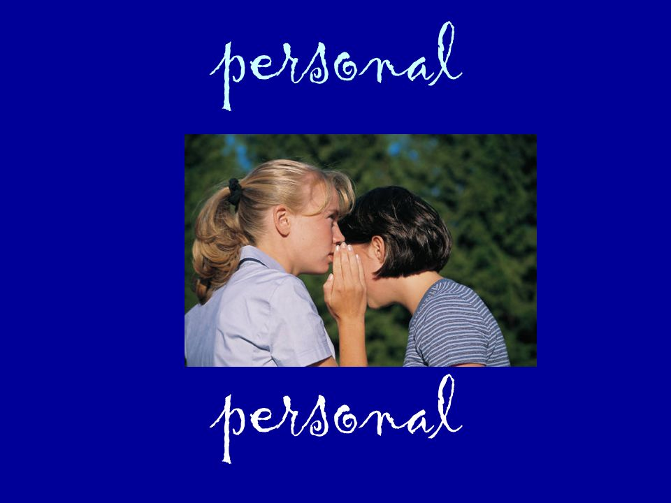 personal personal