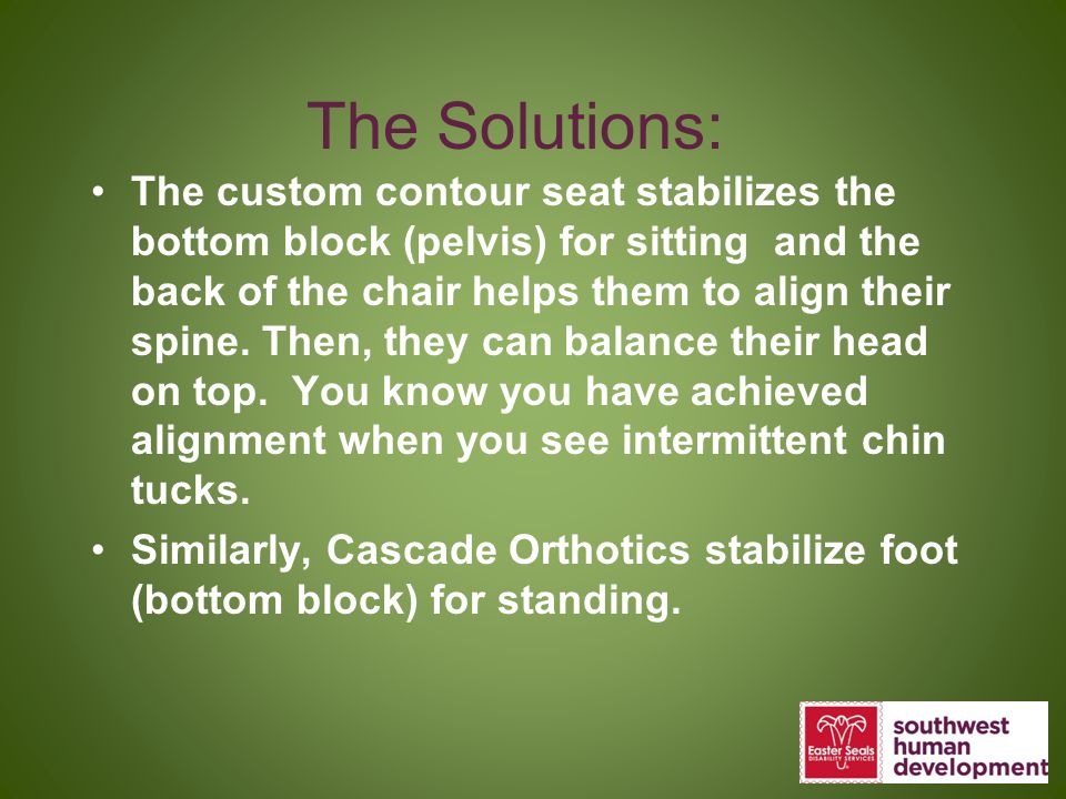 The Solutions: