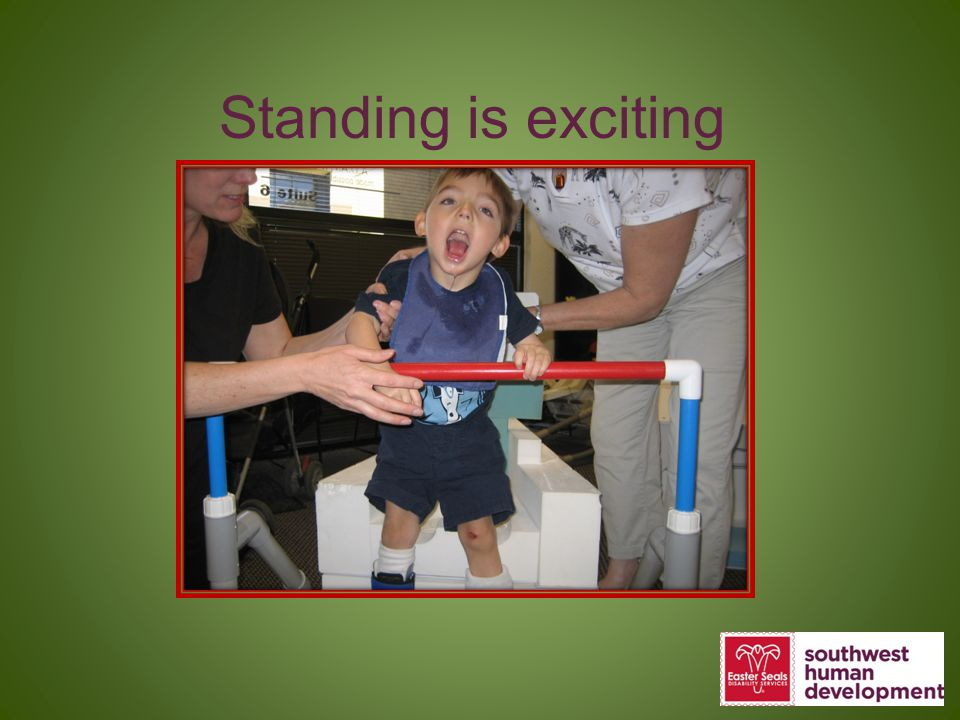 Standing is exciting